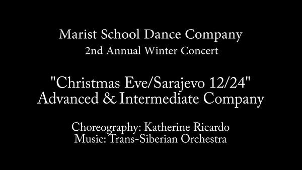 Christmas Eve - Sarajevo with Adv & Int Company - Marist 2016.mp4