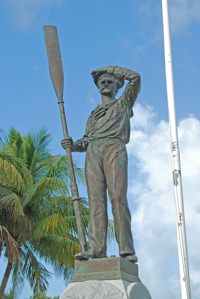 The Battleship USS Maine exploded in the harbor of Havana, Cuba in February 1898 leading to the Spanish-American War.  Because the ship was last anchored in Key West before traveling to Cuba many of the sailors were buried in the Key West cemetery and a memorial was erected in their honor.