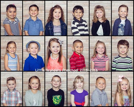 Little Wonders Preschool Portraits
