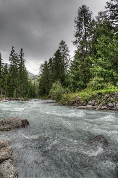 Torrente Rutor - La Thuile, Aosta, Italy - August 9, 2016