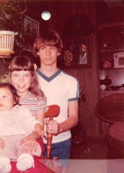 Alaya, Annmarie, Danny. 1983