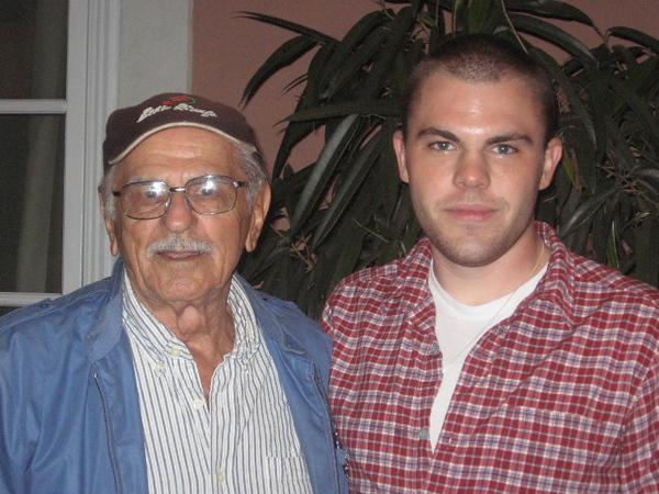 Dad & Jesse Jesse Graduation Oct 2006