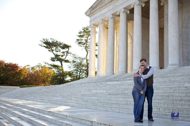Jess & Dan | Washington, DC Monuments Engagement