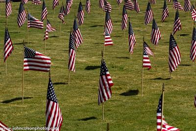 Fallen Officers' Field of Flags - Farmers Branch - 20110908
