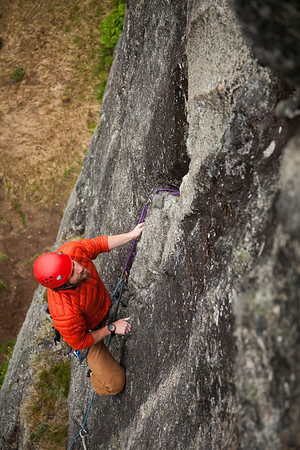 Climbing the Monolith