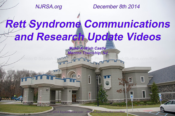 Rett Syndrome Communications & Research Update 12-08-2014
