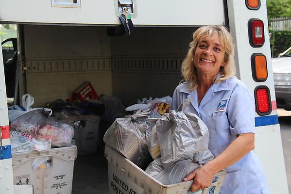 2016,  Postal Workers Food Drives