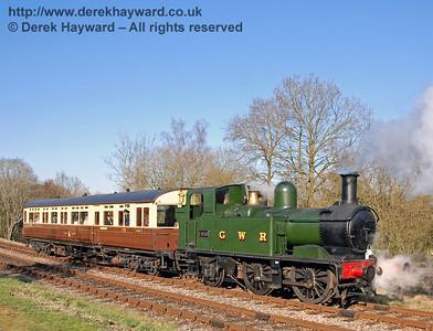1450 and GWR Auto Coach 178 (GWR Autotrain)