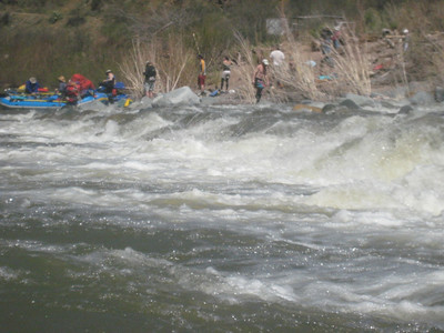 Rafting the Salt River