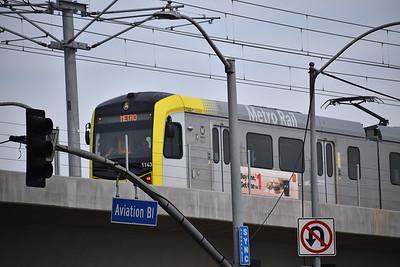 Crenshaw/LAX Line train testing
