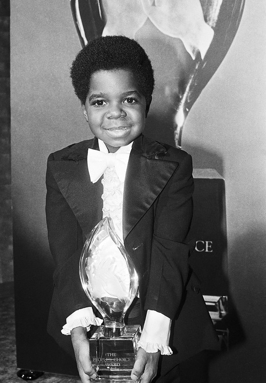. FILE - In this Jan. 24, 1980 photo, actor Gary Coleman holds his People\'s Choice Award, in Los Angeles.  (AP Photo, file)