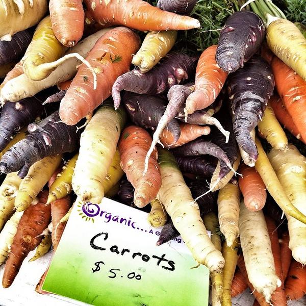 Rainbow of #carrots