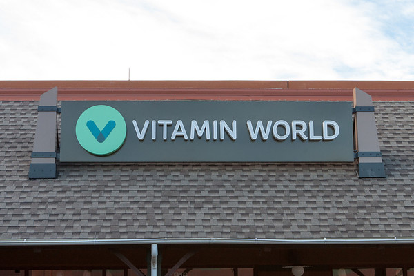 Vitamin World Sign