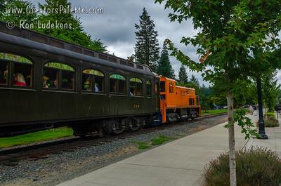 Snoqualmie, WA - Northwest Railroad Museum