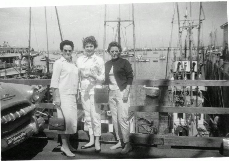 Mrytle  Wasson, Dalra Stone, and Evelyn  Wasson Stone, Monterey CA