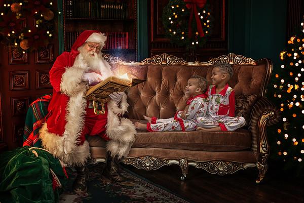 Henderson Santa Photo