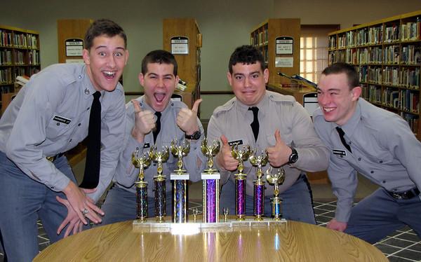 Debate Team Shows Off Trophies