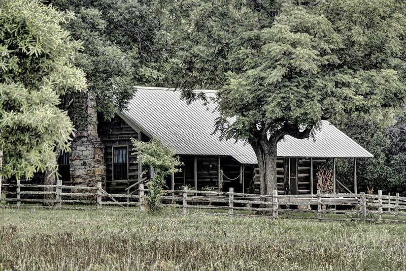 Andrew Jackson Blessing Farmstead, Barney, AR ca. 1872