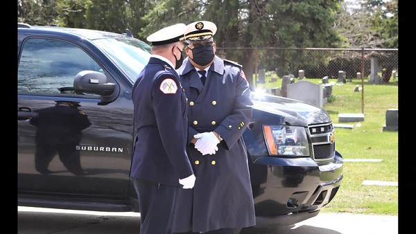 Chicago Fire Department Funeral Services For Truck Company 25 Firefighter Mario Araujo  Video