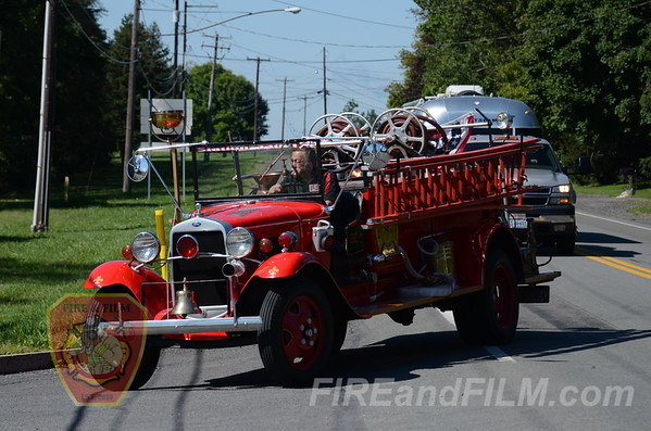 Schuylkill Historical Fire Society Muster - 9/9/2012