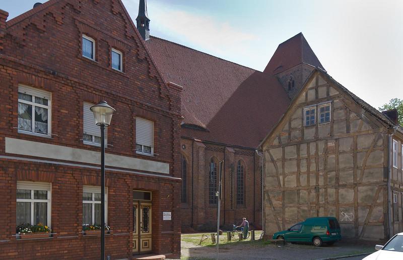 Werben, Blick auf Johanniskirche
