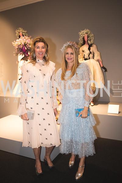 Susan Dunleavy, Mary Beth Shimmon.  Photo by Bruce Allen. 2018 Rodarte Exhibition Reception