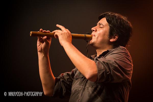 Lucho Quequezana - Hamarikyu Asahi Hall (Rehearsal), Peru Festival 2014