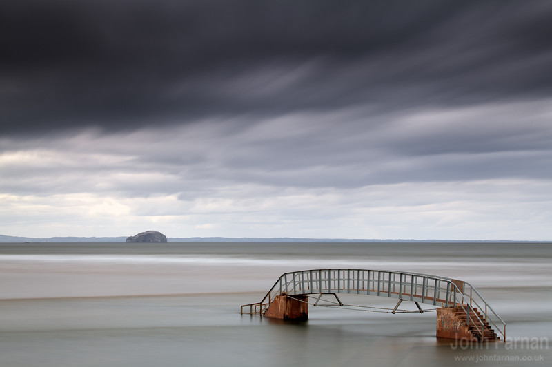 Bass Rock and the Belhaven Bridge