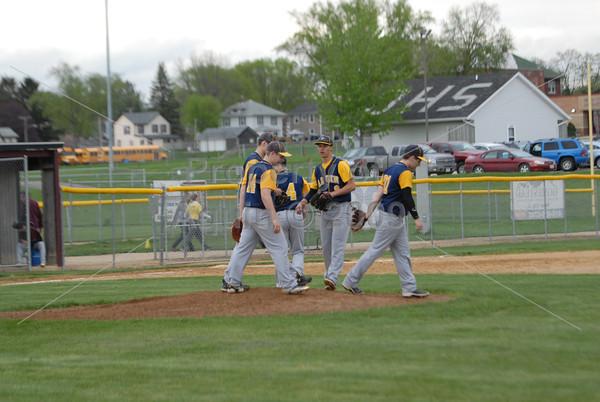 varsity baseball at dakota . 5.15.14