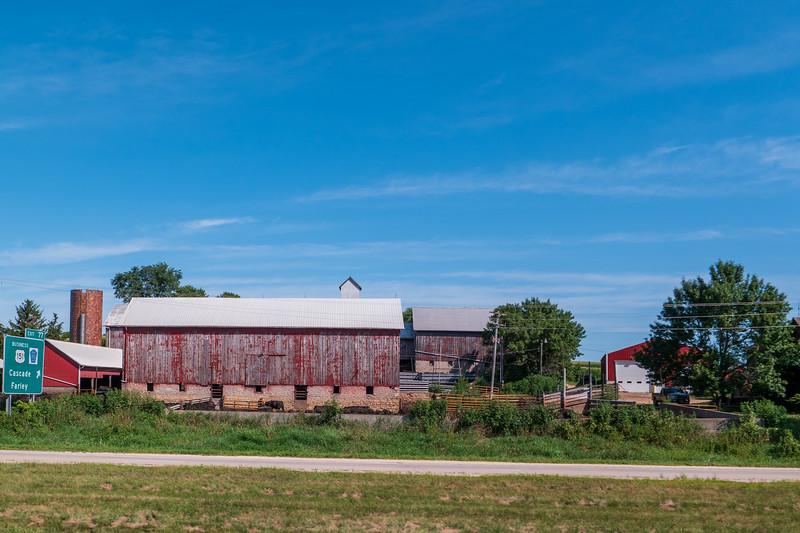 Iowa Dairy Barn