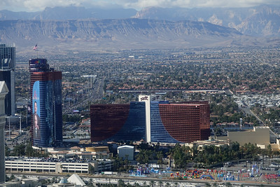 The Rio and west Las Vegas