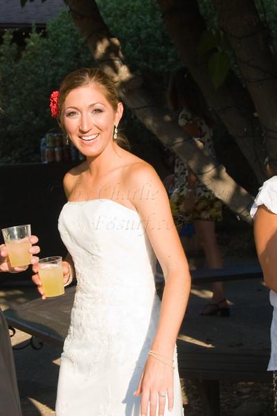 Georgia and Drew's reception