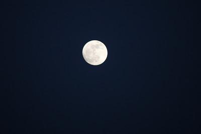"""Ciels - Lune - """" Nuit bleue """""""