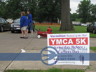 June 20, 2015, Vermilion, Ohio, 5 K  YMCA Jay Hersher Memorial race.