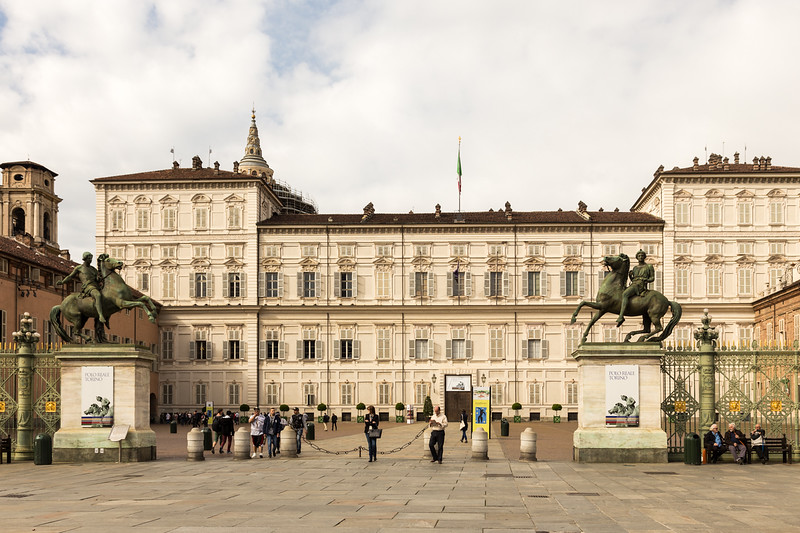royal palace in turin