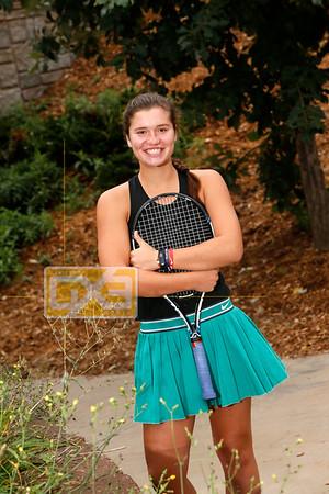 Regis girls' tennis GT18