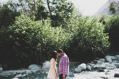 Myron & Kimberly. Engaged.