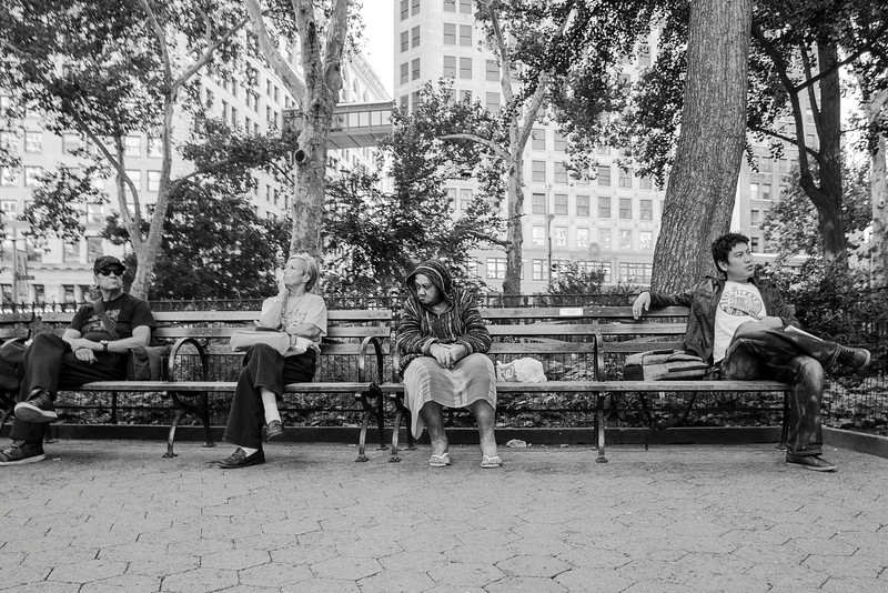 Union Square Bench