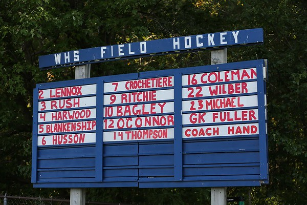 2020-11-3 WHS Girls Field Hockey Slideshow