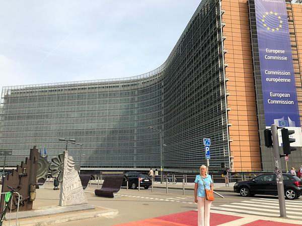 Brussels City, Belgium - 2019