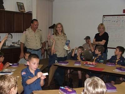 2007-10-29 Wolf Den Meetings