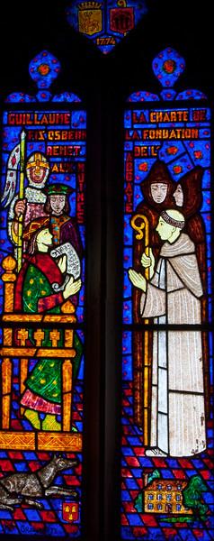 Saint-Pierre-de-Cormeilles -William FitzOsbern Chartres an Abbey