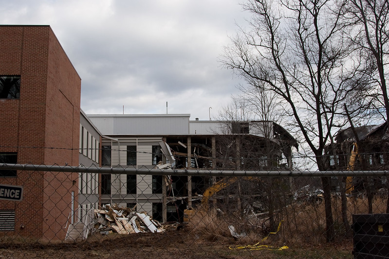 Destruction of Building 2, NASA/GSFC, Jan 2012