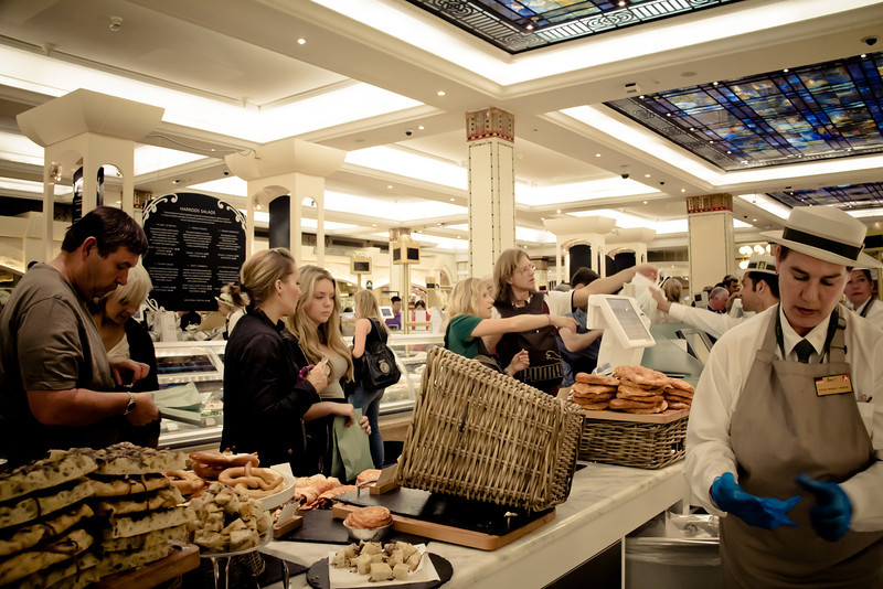harrods food hall buyers