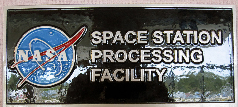 Anything destined for the International Space Station will make its way through the Space Station Processing Facility (SSPF) at some point. This is where the temporary lab is set up to prepare the butterfly habitats and camera modules. Photo by Jim Lovett