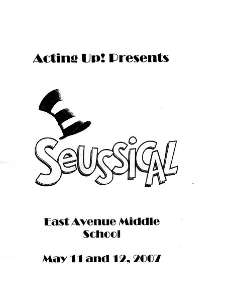 Seussical at East Avenue