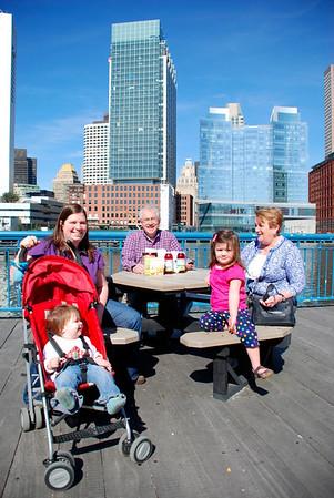 Boston Children's Museum With Grandma and Grandpa