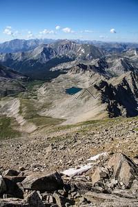 14,420' Mount Harvard, Sawatch Range, CO