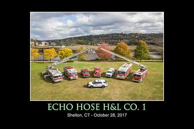 Echo Hose Co. #1 Apparatus Fleet (Shelton, CT) 10/28/17