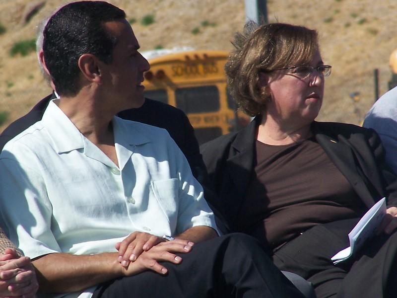 Antonio Villaraigosa & Sara Feldman